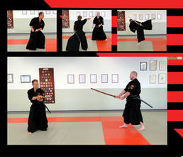 Kenjutsu techniques and the syllabus